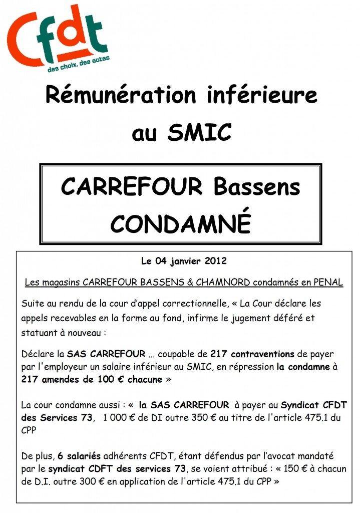 Salaire en dessous du SMIC: Carrefour Bassens condamné  dans Au magasin penal_bassens-719x1024